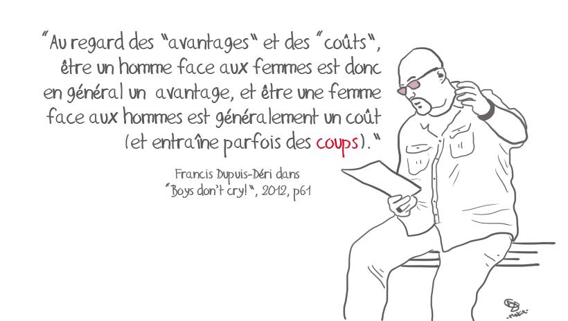 Traits d'Amour #1 •  Francis Dupuis-Déri